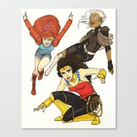 Heroines Redesign Canvas Print