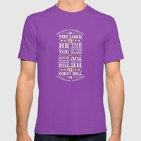 Psalm 37:4 Mens Fitted Tee Ultraviolet SMALL