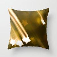 Bokeh Of Stars Throw Pillow