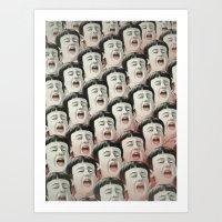 AAAA! II Art Print