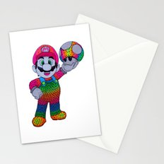 Mario Bros Stationery Cards