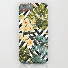 Flowered Chevron iPhone 6 Slim Case