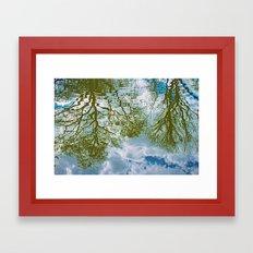 TREE-FLECTS Framed Art Print
