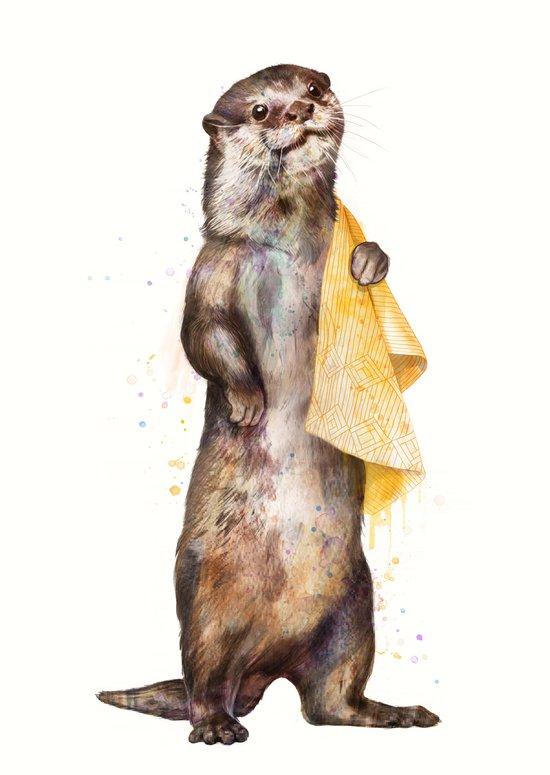 otter Art Print