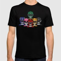 It's Morphin' Time! Mens Fitted Tee Black SMALL