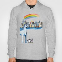 Unicorn Penguin Love NYC Hoody