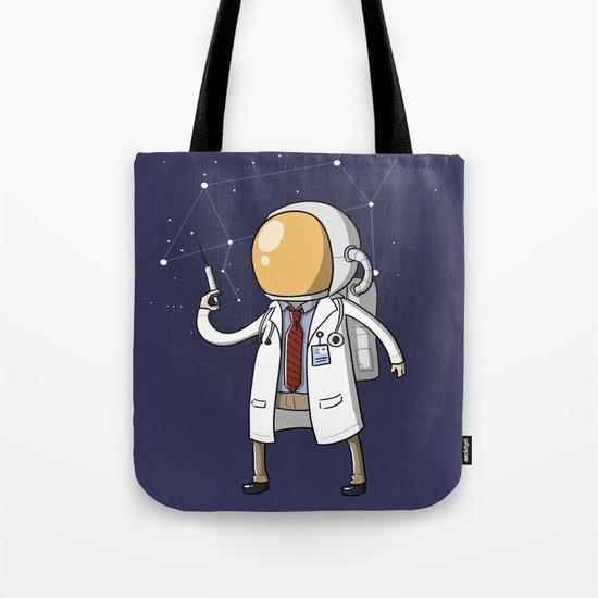 Dr. Spaceman Tote Bag