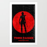 Tomb Raider Art Print