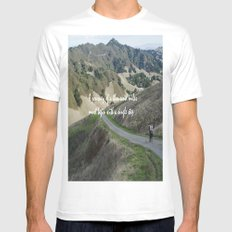 Thousand Miles Mens Fitted Tee White SMALL