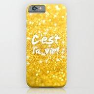 iPhone & iPod Case featuring C'est La Vie by SMart