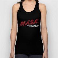 M.A.S.K. Unisex Tank Top