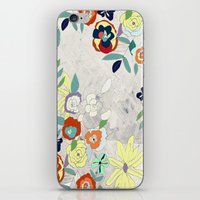 Saturday Florals iPhone & iPod Skin
