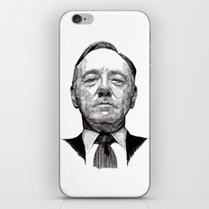 House of Cards - Francis Underwood iPhone & iPod Skin