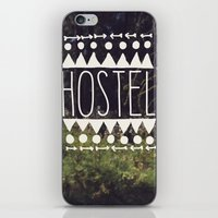 hostel iPhone & iPod Skin