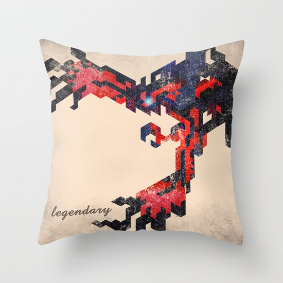 I Am Legendary Y- Geometric Throw Pillow