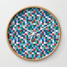Colour Block Mini #4 Wall Clock