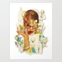 Blaise | Collage Art Print