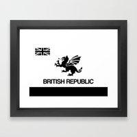 British Republic Framed Art Print