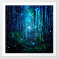 Art Print featuring Magical Path by Haroulita
