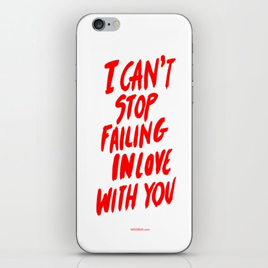 Failing iPhone & iPod Skin