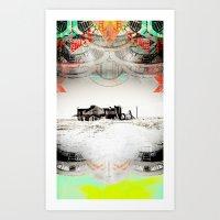 ALONG THE ROAD-VACANCY zine Art Print