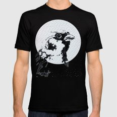 Upwind attitude Mens Fitted Tee SMALL Black