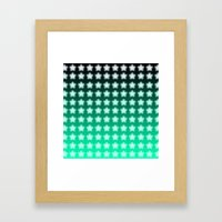 You're A Star! Green And… Framed Art Print