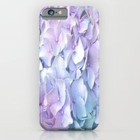 Soft Pastel Hydrangea iPhone & iPod Case