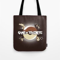 Game Of Trainers Tote Bag