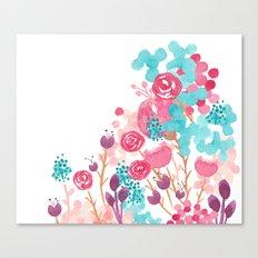 Blush Blossoms Canvas Print