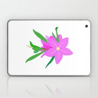 Flowers On The Wall  Laptop & iPad Skin