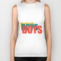 Boys Boys Boys Biker Tank