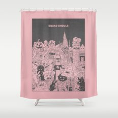 Squad Ghouls Shower Curtain