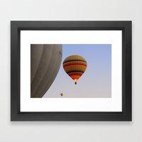 HOT AIR BALLOONS Framed Art Print