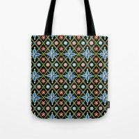 Millefiori Heraldic Lattice Tote Bag