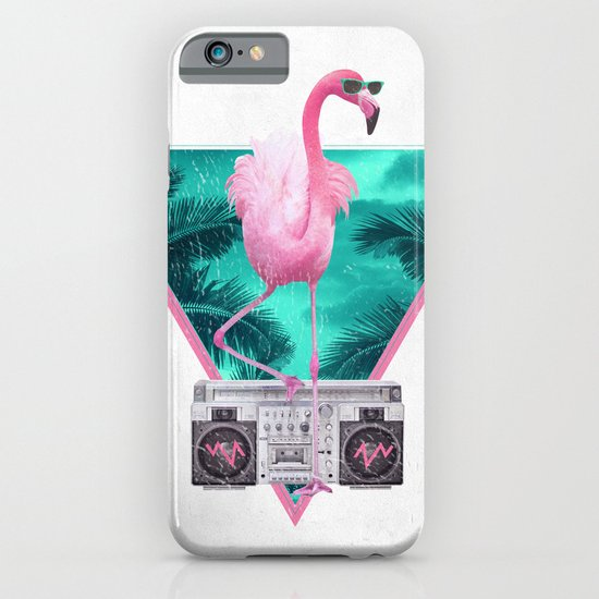 Miami Flamingo iPhone & iPod Case