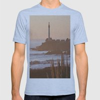 Lighthouse Mens Fitted Tee Athletic Blue SMALL