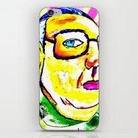 Kim Jong Il Has Pretty L… iPhone & iPod Skin