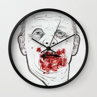 Ready when you are, Sergeant Pembry. // Silence of the Lambs Wall Clock