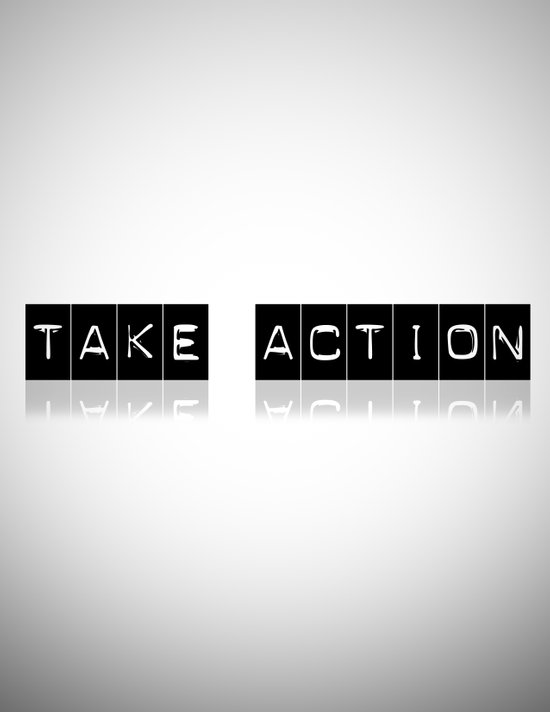 Take Action Art Print