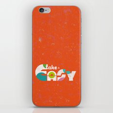 Take It Easy iPhone & iPod Skin