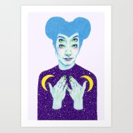 Bablien I -  Space Queen Art Print
