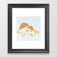 Room For Everyone Framed Art Print