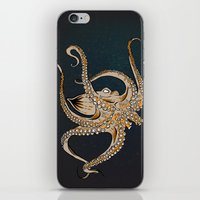 Embrace Of The Octopus iPhone & iPod Skin