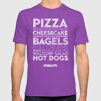 New York — Delicious C… Mens Fitted Tee Ultraviolet SMALL