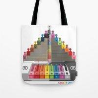 Kawaii Speak Visual : Design Digital  Tote Bag