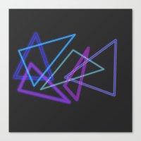 Glow Stick  Canvas Print