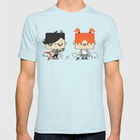 Love Song Part I Mens Fitted Tee Light Blue SMALL