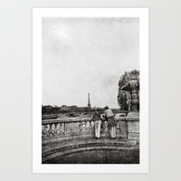 Timeless Paris Art Print