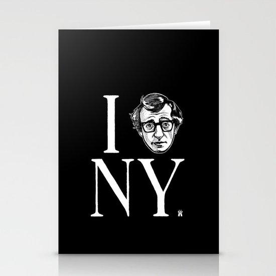 I (Woody) NY Stationery Card